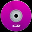 Cd, Purple Icon