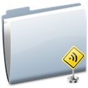 Folder, Rss, Sign Icon