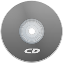 Cd, Gray Icon