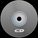 Cd, Gray Icon