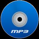 Blue, Mp Icon