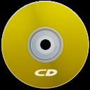 Cd, Yellow Icon