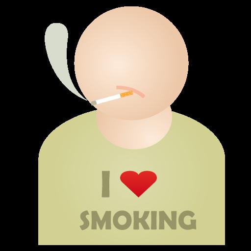 i, Love, Smoking Icon