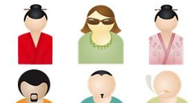 Da Pino People Icons