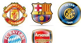 Soccer Teams Icons