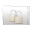 Folder, Ziped Icon
