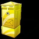 Box, Letter Icon