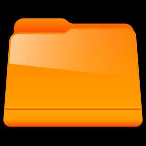Generic, Orange Icon