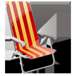 Beach, Sit Icon