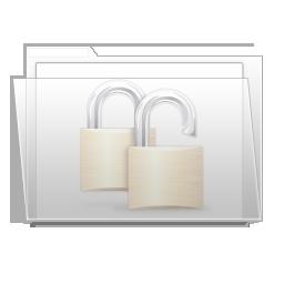 Folder, Ziped Icon