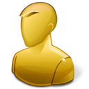 Anonymous, Hot, User, Yellow Icon