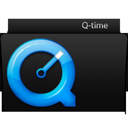 q, Time Icon