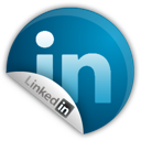 Linkedin, Sticker Icon