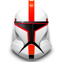 Clone, Helmet, Star, Wars Icon