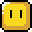 Block, Retro Icon