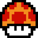 Cartoon, Game, Mario, Mushroom, Retro, Super Icon