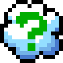 Cloud, Question, Retro Icon
