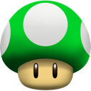 Mushroom, Up Icon