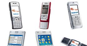Nokia E Series Icons