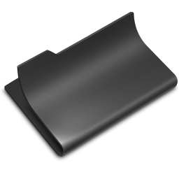 Black, Open Icon