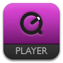 Purple, Quickt Icon
