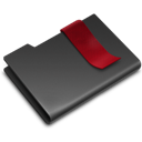 Black, Bookmarks Icon