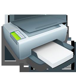 Paper, Printer Icon