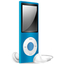 Blue, Ipod, Nano, Off Icon