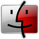 Finder, Red Icon