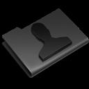 Black, Users Icon