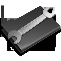 Alternate, Black, Utilities Icon