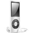 Ipod, Nano, Off, Silver Icon
