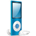 Blue, Ipod, Nano, On Icon