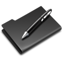Black, Graphics, Pen Icon