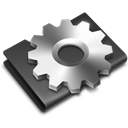 Alternate, Black, Developer Icon