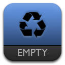 e, Trash Icon