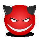Devil, Smile Icon