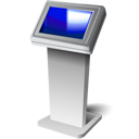Kiosk, Screen, Touch Icon