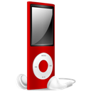 Ipod, Nano, Off, Red Icon