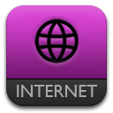 Purple, Safari Icon