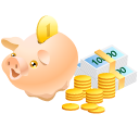 Money, Pig Icon