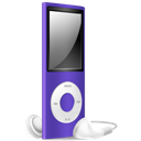 Ipod, Nano, Off, Purple Icon