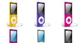 iPod Nano Chromatic Icons