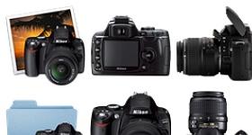 Nikon D40 Icons