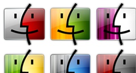 Finder Colors Icons