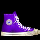 Converse, Dirty, Light, Lila Icon