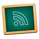 Blackboard, Feed, Green, Icon Icon