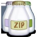 Fyle, Type, Zip Icon
