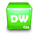 Adobe, Cs, Dw Icon
