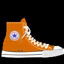 Converse, Orange Icon